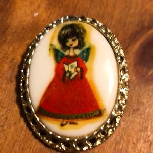 Vintage picture pin